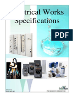 Electrical Works Specifications