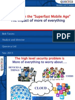 """IT security in the """"Superfast Mobile Age"""""""