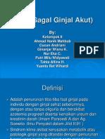 GGA (Gagal Ginjal Akut)