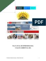 Plan Anual Epidemiologia 2011