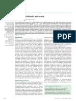 Acute Lymphoblastic Leukaemia Lancet 2008