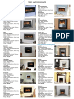 FirePlaces CustomerPrice Feb2008