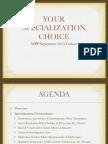 MPP Specialization Choice 2013