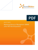 BrandMaker Whitepaper Return on Investment 2013