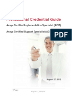 ACIS-ACSS Credential Guide 8-27-12 V1