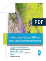 Combined Analysis of Optical and SAR Remote Sensing Data