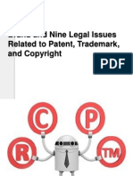 Brand and Nine Legal Issues Related to Patent-1