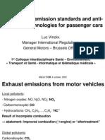 Evolution of Emission - Cars