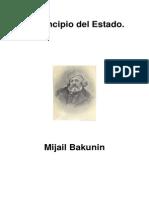 Bakunin, Mijail - El Principio Del Estado