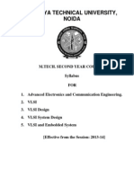 VLSI M.Tech Syllabus