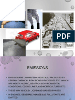 Engine Emission