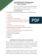 Synopsis Point M.tech III Sem