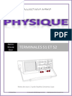 Physique Terminale