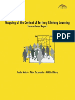 THEMP - Mapping of the Context of Tertiary Lifelong Learning - Transnational Report