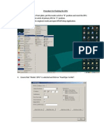 Procedure for Flashing the DPU