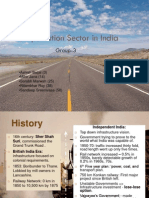 Transportation Sector India