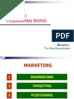Strategi Pemasaran Penjualan