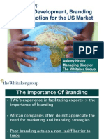 Marketing and Branding for African Exporters