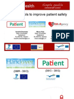 TEL4Health – Mobile Tools for patient safety