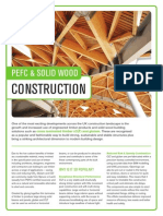 PEFC & Solid WoodConstruction
