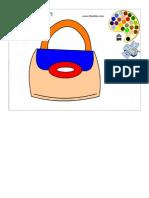 Desenho Da Bolsa Para Colorir Online