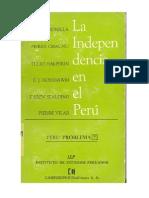 Chaunu et al, La Independencia en el Perú