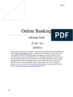 Online Banking Paper - IT 103 011 (Repaired)