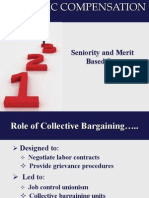 7. Seniority Merit Based Pay