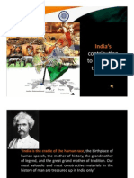 Indias Gift to the World