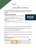 YogaBR Manual Para Autores