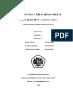 laporan FHA, hematokrit ikan mas
