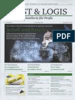 Schall und Rauch, Titel-Story in der Cost&Logis 12/2013