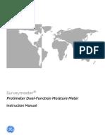 Protimeter Surveymaster Instructions