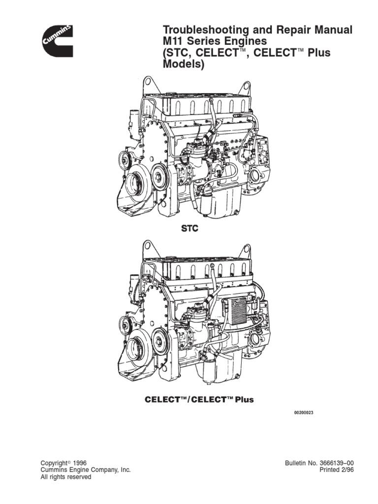Engine M11 Repair Manual