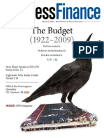 The Budget R.I.P. (1922 to 2009)