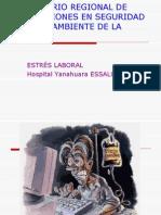 UNSA ESTRÉS LABORAL SEMINARIO REGIONAL