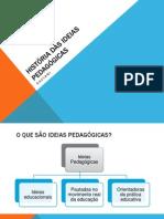 1Historia Das Ideias Pedagogicas