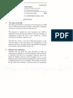 Anti Corruption (Amendment) Bill 2013