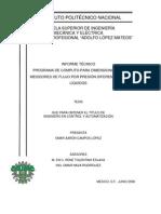 Informe Tecnico Programa de Computo