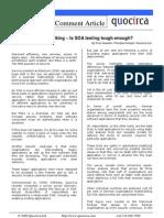 Is SOA testing tough enough?