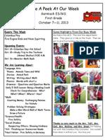 oct  7-11 2013