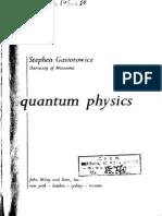 """Quantum Physics"" - S. Gasiorowicz"
