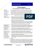 Visual impact - the emerging face of business collaboration