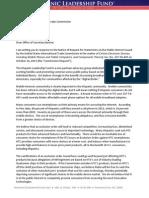 ITC-847 Hispanic Leadership Fund Public Interest Statement