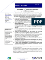 Managing 21st century networks