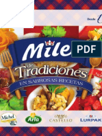 Milex de Tradiciones en Sabrosas Recetas - Edición Navideña