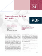 24.Amputations of the Foot and Ankle