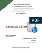 Administración de base de datos DEIMAR