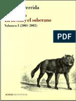 Derrida Seminario La Bestia y El Soberano 2001 2002