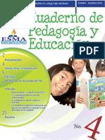Cuaderno de Pedagogía y Educación - 4